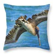 The Peli Dive Throw Pillow