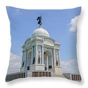 The Pennsylvania State Memorial Throw Pillow