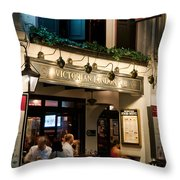 The Penny Black Throw Pillow