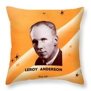The Penny Whistle Song Throw Pillow