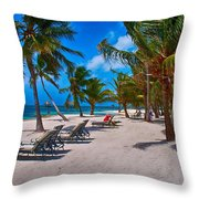 The Perfect Beach Throw Pillow