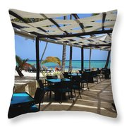 The Perfect Breakfast Spot Throw Pillow