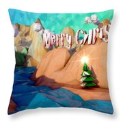 The Perfect Christmas Tree Throw Pillow