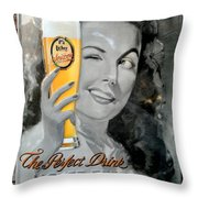 The Perfect Drink Throw Pillow