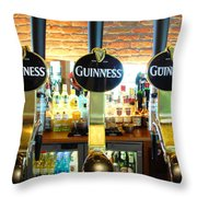 The Perfect Pint Throw Pillow