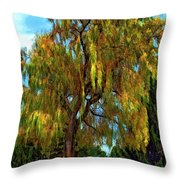 The Perfect Swing II Throw Pillow