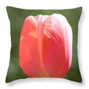 The Perfect Tulip Throw Pillow