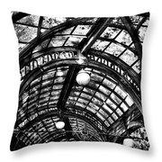 The Pergola Ceiling Throw Pillow