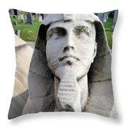 The Pharaoh Throw Pillow