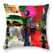 The Philosophy Of Social Reformation Throw Pillow