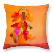 The Phoenix Throw Pillow