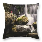 The Photographer's Quest Vi Throw Pillow