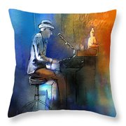 The Pianist 01 Throw Pillow