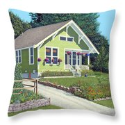 Our Neighbour's House Throw Pillow