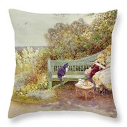 The Picture Book Throw Pillow