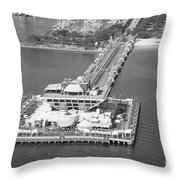 The Pier St Petersburg Fl Throw Pillow