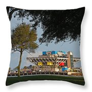 The Pier - St. Petersburg Fl Throw Pillow
