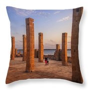 The Pillars Of The Earth Throw Pillow