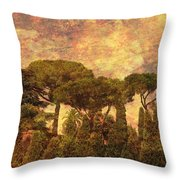The Pines Of Rome Throw Pillow