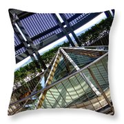 The Pinnacle Of Confusion Throw Pillow