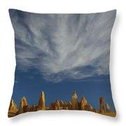The Pinnacles 2am-111015 Throw Pillow