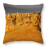 The Pinnacles 4 Throw Pillow