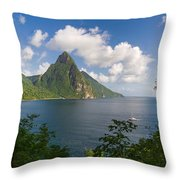 The Piton Throw Pillow