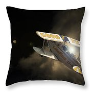 The Pitts Throw Pillow