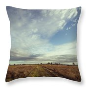 The Place I Love Throw Pillow