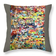 the place of the Beis HaMikdash 2 Throw Pillow