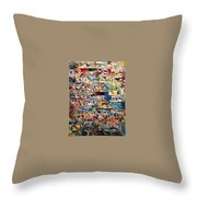 the place of the Beis HaMikdash Throw Pillow