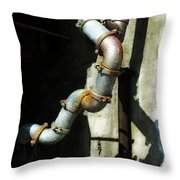 The Planning Department's Sewage Pipe Throw Pillow