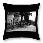 The Platt's House In New Jersey Throw Pillow