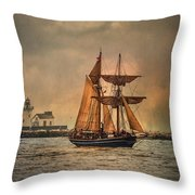 The Playfair Throw Pillow