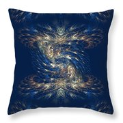 The Playground In My Mind 3 - Abstract Fantasy Art By Giada Rossi Throw Pillow