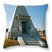 The Point Of Dying Throw Pillow