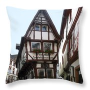 The Pointed House Throw Pillow