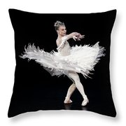 The Poiwer Of Elegance Throw Pillow