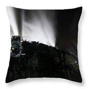 The Polar Express Throw Pillow