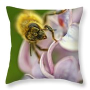 The Pollinator Throw Pillow