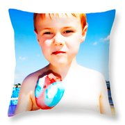 The Popsicle Throw Pillow by Edward Fielding