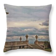 The Porch Throw Pillow