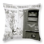 The Postal Service Throw Pillow