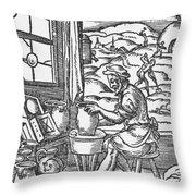 The Potter, 1574 Throw Pillow