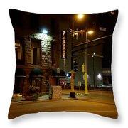 The Pourhouse Throw Pillow