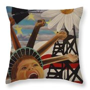 The Power Of A Dream  Throw Pillow