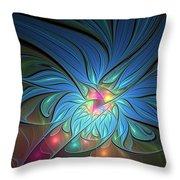 The Power Of Light Throw Pillow