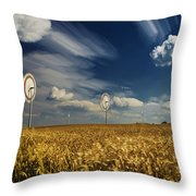 the power of Wind Throw Pillow