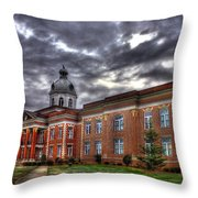 The Powerhouse Putnam County Court House Throw Pillow