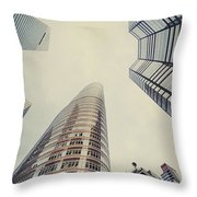 The Powers Above Throw Pillow